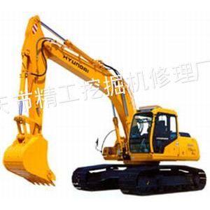 供应现代挖机修理厂,R210W-5挖机旋转没有力怎么回事?