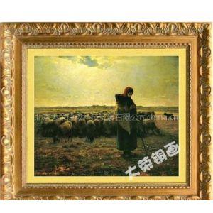 供应人物油画,高档油画,名人油画(牧羊女)