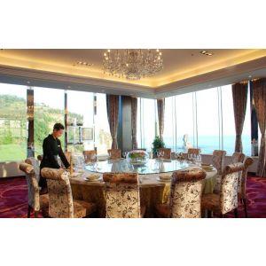 供应青岛酒店桌椅家具各类加工定做 酒店餐桌餐椅 卡座沙发 宴会会所桌椅 ktv卡座沙发 墙体软包