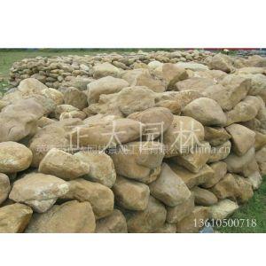 供应英德长期大量供应:鹅卵石、太湖石、黄腊石、英石、黄水石