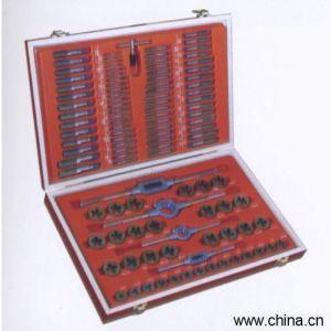 110件丝锥板牙德标公制套装