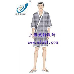 供应上海浴衣定做 桑拿浴衣 浴场浴袍