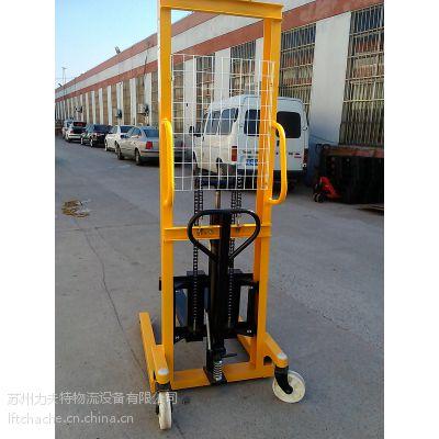 厂家直销江苏手动液压叉车 浙江手推堆高车 苏州小型升高叉车