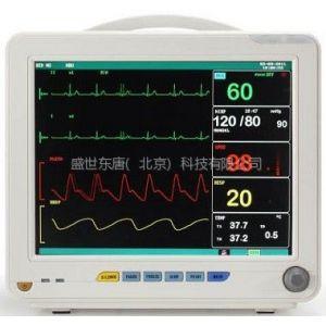 供应博特七导同屏CP-1200B多参数心电监护仪、型号:TOP-1800