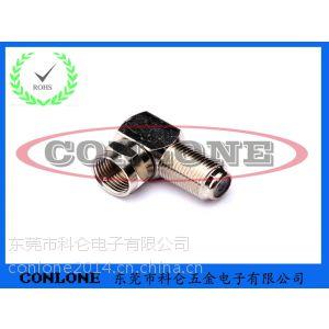 供应F型视频连接器,F公转母转接头插座