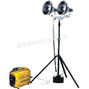 供应SZY6000H便携升降工作灯数码静音发电机