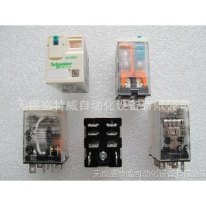 供应施耐德功率继电器 RPM22BD 2组触点转换 带指示灯和测试按钮