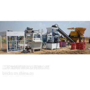 供应建材生产设备-免烧砖机-混凝土砌块机 (QT4-15 / QT3-15)