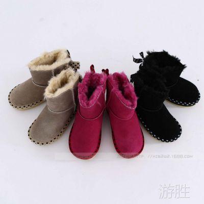 76e112109 儿童大童靴 女童雪地靴 个性时尚  外贸童鞋 批发