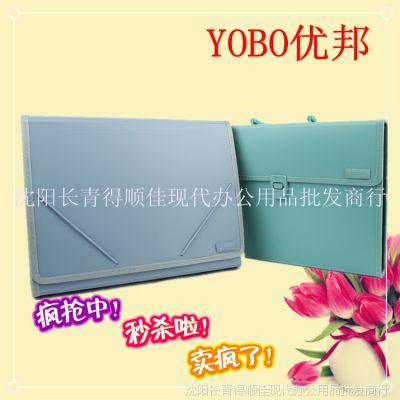 YOBO优邦便携式文件整理夹 塑料盒带扣 疯抢中