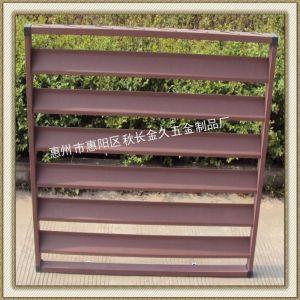 供应【厂家定制】 锌钢百叶窗护栏 热镀锌空调护栏 美观耐用