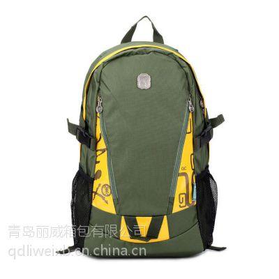 供应青岛箱包厂供应专业订做背包、背包订做加工,出口背包订做