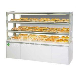 深圳常温面包展示柜厂家/面包陈列柜定制/东洋冷柜定制