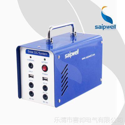 【新产品】ES-1206小型户外太阳能发电机 便携式家用夜市照明