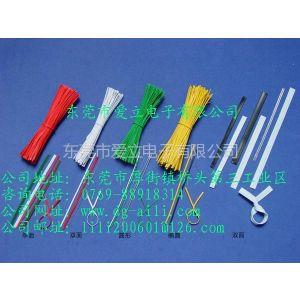 供应透明包胶铁线、铁芯扎线,扎线带