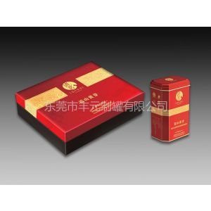 供应金花茶纸盒包装、黄花茶铁盒