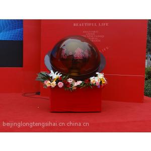 供应北京水晶球启动球 电子彩球拉杆启动台推拉杆启动装置新颖启动仪式启动道具