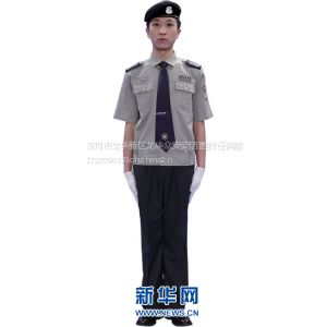 供应厂家直销2011新款毛昵湖北云龙牌保安服