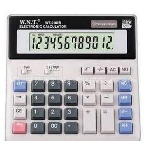 供应万能通WT-200B桌面计算器非常好用