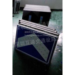 太阳能标牌、太阳能指示标牌、深圳太阳能线型诱导标牌、太阳能施工标志牌
