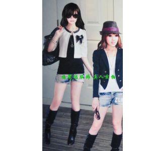 供应淘宝网韩版小西装搭配 网上的女装店 淘宝网女士黑色小西装