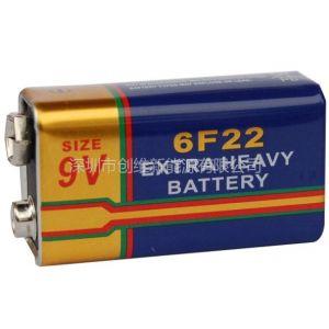 供应6F22测试仪器仪表电池 6F22无线话筒电池厂家