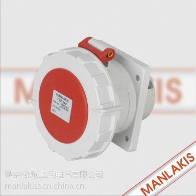 南京曼奈柯斯工业插座 防水插头 防水插座 组合插座箱