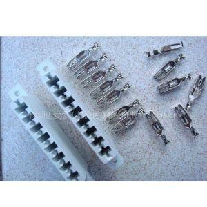 供应AMP-8端子排/8孔位金手指/温控箱8位端子排