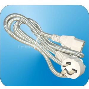 供应大功率三极电源插头线