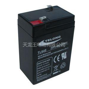 供应TL640铅酸蓄电池6V4AH免维护铅酸蓄电池