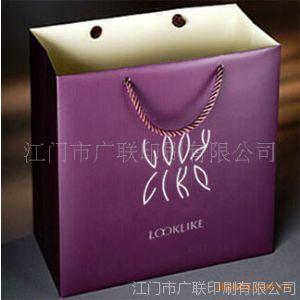 供应江门江海区加工 印刷包装纸袋 精美包装袋礼品手提 牛皮袋 手挽袋