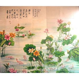 供应彩瓷壁画,国内著名彩瓷壁画定制定做供应!