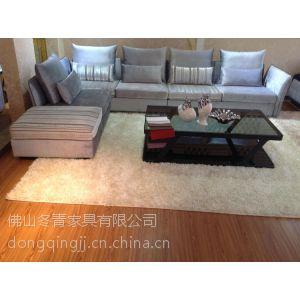 供应冬青家具 现代时尚沙发 休闲布艺沙发 贵妃S525
