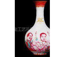 供应建党伟业90周年纪念瓷  中国红瓷  醴陵瓷器