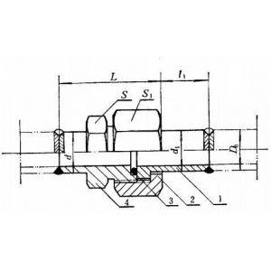 供应JB 992-77焊接式隔壁直通管接头体
