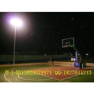 供应武汉篮球场灯杆照明,室外球场照明灯批发,标准篮球场灯杆布置安装图