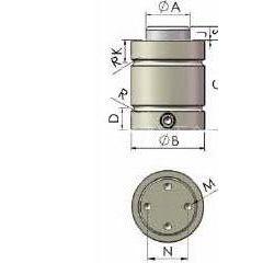 无锡金易和供应贝麟模具五金生产销售各系列氮气弹簧/氮气缸