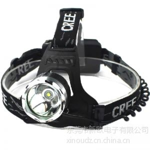 供应LED强光头灯 户外照明大功率头灯