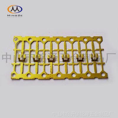 供应专业生产电池弹片,5号电池连接片,B字型电池片,电子开关连接件