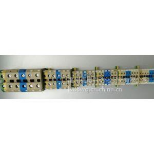 供应上海雷普JUK通用接线端子JUK6N-BU 蓝色接线端子6mm2 蓝色雷普端子