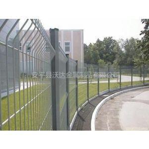 供应三角折弯护栏网、工厂围栏网、小区护栏网