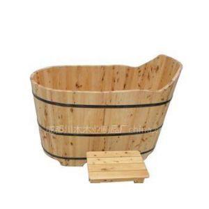供应木桶 花瓣无孔泡澡桶 泡澡盆 沐浴桶