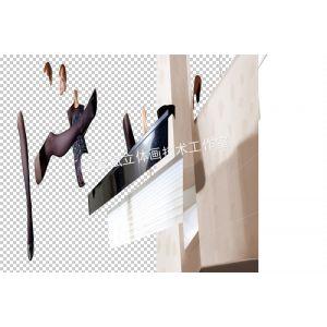 供应供应栩栩如生3D MAX软件转立体画技术培训
