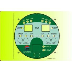 供应专业生产加工PET仪器仪表面壳/贴膜/刻度片