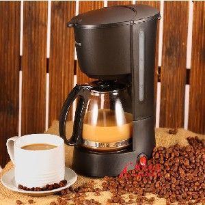 供应家用全自动咖啡机 美式咖啡机 咖啡泡茶兼容机