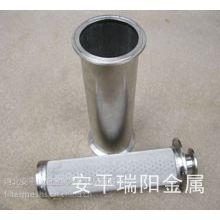 供应安平县瑞阳金属制品厂专业生产供应浆料过滤器,熔体过滤器