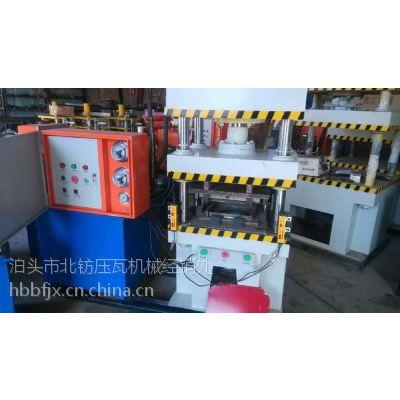 沧州机械84彩钢广告扣板机成型工艺