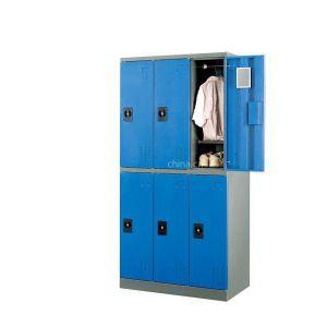 广东合信钢具厂供应职工学生宿舍储物挂衣柜