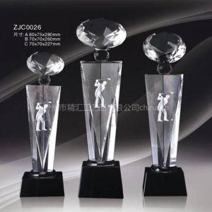 供应如何鉴别是不是水晶工艺品?广州水晶奖杯厂家,各体育比赛奖杯厂家定做