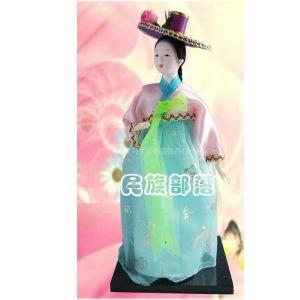 供应韩国人偶,日韩风情,民族工艺品